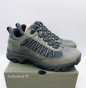 Timberland Men's Mt. Maddsen Waterroof Low Hiker Boot - Medium Grey US 7.5