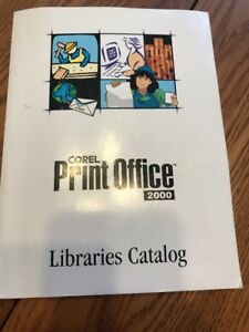 Corel Print Office 2000 Library of Clip Art, Multimedia Layouts, Templates