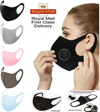 Unisex Face Mask Washable Reusable Masks Protection Cover Adult With Alot shades