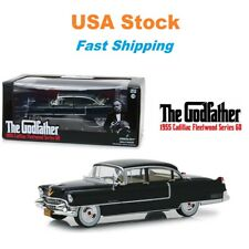 The Godfather 1955 Cadillac Fleetwood Series 60 Greenlight Diecast 8.25'' 1:24