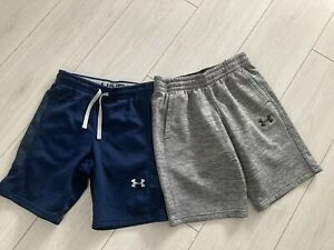 2 Pair Of Boys Under Armour Shorts Size Large
