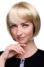 WIG ME UP - perruque Sexy Bob queue de cheval Blond Clair Doré Sixties 703-202