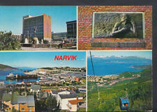Norway Postcard - Views of Narvik    RR2368