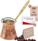 Turkish Coffee Pot, Greek Arabic Coffee Maker, Hammered Copper Coffee Cezve, Sma