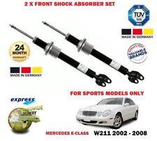 pour Mercedes Classe E SPORT W211 2002-2008 NOUVEAU x 2 Jeu d'amortisseur Avant