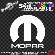 MOPAR Custom Vinyl sticker Laptop Car Window Bumper Truck Hemi Plymouth Toolbox
