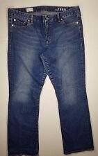Gap Jeans 1969 Perfect Boot Womens Sz 33R Denim