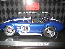 KYOSHO GORGEOUS COLLECTION SHELBY COBRA 427 S/C # 98 RACING SCREEN (BLUE)