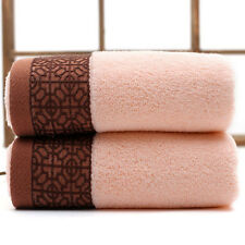 New Super Soft Absorbent 100% Cotton Cleaning Face Hand Towel Large Bath Towels