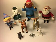 Lot Of 9 island Of Misfit Toys Figures Playing Mantis Rudolph Company Christmas