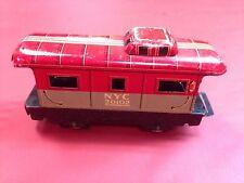 Vintage Marx Tin Train Caboose and Coal Car