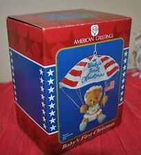 NEW American Greetings 10th ANNIVERSARY OPERATION SANTA BABY'S FIRST CHRISTMAS