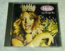 Live Through This [Bonus CD] by Hole (CD, Jan-1995, Geffen)
