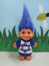 "STAR OF DAVID SWEATER BOY (#3) - 5"" Russ Troll Doll"