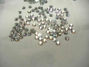 Sealed pack of 288 Preciosa Iron-on,12-facet Flatbacks in 30ss Crystal AB