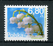 Poland 2018 MNH Lily of the Valley 1v Set Flowers Flora Nature Stamps