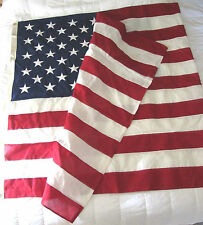 5' X 10' GOV. SPEC. ALLIED MATERIALS AMERICAN FLAG EMBROIDERED & STITCHED COTTON