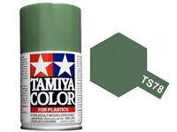 TAMIYA COLORE SPRAY PER PLASTICA FIELD GRAY GRIGIO CAMPO 100ml  TS78