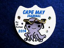 New, Original 2014 Season Cape May, NJ Beach Tag/Badge