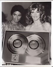 michael jackson  press kit w/jane fonda