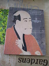 CHRISTIES CATALOGUE JAPANESE PRINTS DRAWINGS COLLECTION THEODOR SCHEIWE PT2
