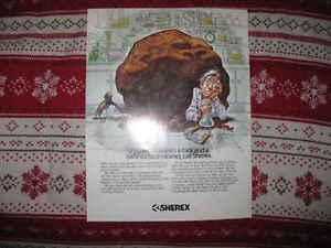 RARE 1980 JACK DAVIS COMIC ART AD TEARSHEET ORIGINAL PROOF PRINT SCIENTIST GERM