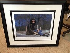 Jerry Garcia Photograph Giclee Numbered Limited Edition Hulton Archive 1970 Art