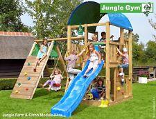 Parco gioco FARM-CLIMB uso privato torretta con modulo arrampicata Jungle Gym