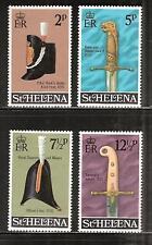 ST. HELENA # 273-6 MNH MILITARY ARTIFACTS