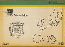 Opel Diesel Microvision 2/82 1 Cassette ohne Mikrofiche 1982 Auto Automobilia