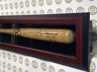 "CORY LIDLE ""96-97"" GAME USED RAWLINGS BASEBALL BAT PSA COA NY METS YANKEES MLB"