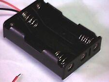 Batteriehalter für 3x Micro (AAA) mit Anschlußkabeln