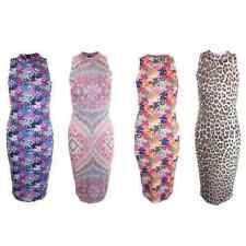 Markenlose Ärmellose Damenkleider in Größe 42