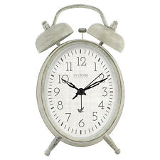 617-2916 La Crosse Clock Company Battery Powered Twin Bell Analog Alarm Clock