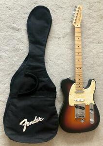 Fender Telecaster USA B-Bender 2005 Sunburst Tremolo E-Gitarre Gitarre Gigbag Hü
