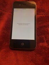 iPhone 4S 16GB Black Apple Locked A1387 Phone Working But Apple Locked