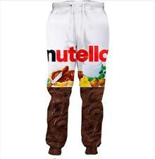 2020 Women/Men Nutella 3D Print casual Jogger pants Sweatpants Plus Size