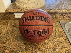 Original Spalding TF-1000 Game Ball Leather Basketball Men's 29.5 NEW!!!