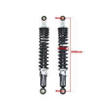 (Paar) Stoßdämpfer Federbein hinten für Simson S50 S51 S70 E S83 SR50 schwarz