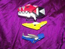 Power Ranger Rangers DINO THUNDER MORPHER! 2003 Rare!  Works! Triassic Abaranger