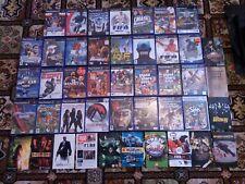 Big Bundle Lot Of 44 Sony PS2 Video Games Star Wars GTA FIFA The Sims Golf Pal