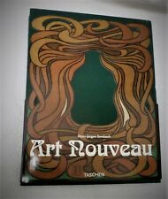 Vintage large  Book Art Nouveau Study 1996 Architecture Lamps Furniture