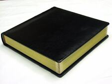 Professional 10x10 black Wedding Photo Album With 20 Mats  (Engraving Available)
