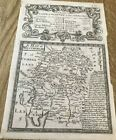 Westmorland & road York to Pickering  BOWEN RD MAP C1720 FROM BRITANNIA DEPICTA