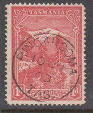 Tasmania Postmarks - complete 1903 RINGAROOMA datestamp 1d Pictorial.