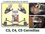 FBX-F-CHE-52 1988-1996 Chev Corvette C4 Front Air Suspension ride does w/out box