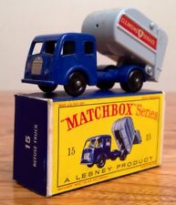 """MATCHBOX"" Series #15 - (Dennis Tippax) Refuse Truck (1963) w/ Original Box"