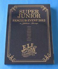 SUPER JUNIOR JAPAN FANCLUB EVENT 2012 DVD E.L.F. JAPAN Limited K-POP DONGHAE