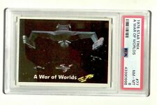 PSA 8 vintage 1976 Topps STAR TREK trading card #77 Klingon ship Enterprise TOS