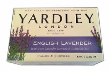 Yardley Bar Soap English Lavender With Essential Oils 4.25 Oz Bar (Pack Of 3)
